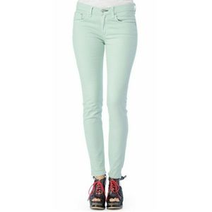 Free People Mint Skinny Jeans